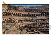 Interior Of The Coliseum, Rome, Italy Carry-all Pouch