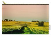 Iowa Cornfield Panorama Carry-all Pouch