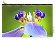 Iris Flower Carry-all Pouch by Heiko Koehrer-Wagner