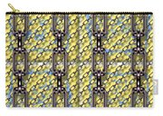 Iron Chains With Glazed Tiles Seamless Texture Carry-all Pouch