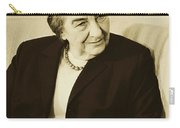 Israel Prime Minister Golda Meir 1973 Carry-all Pouch