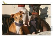 Italian Greyhounds Carry-all Pouch