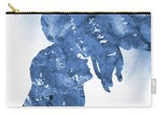 Jane And Tarzan-blue Carry-all Pouch