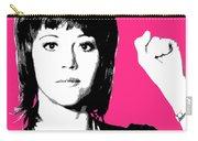 Jane Fonda Mug Shot - Pink Carry-all Pouch