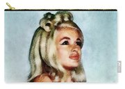 Jayne Mansfield, Vintage Hollywood Actress And Pinup Carry-all Pouch
