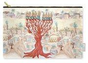 Jerusalem -watercolor On Parchment Carry-all Pouch