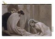Jesus Washing The Feet Of His Disciples Carry-all Pouch
