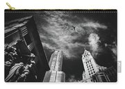 Jet Over Michigan Avenue Carry-all Pouch