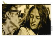 Joan Baez With Bob Dylan Carry-all Pouch