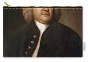 Johann Sebastian Bach, German Baroque Carry-all Pouch by Photo Researchers