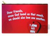 1 John Bible Verse Carry-all Pouch
