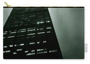 John Hancock Building - Chicago Illinois Carry-all Pouch by Michelle Calkins