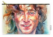 John Lennon Portrait Carry-all Pouch