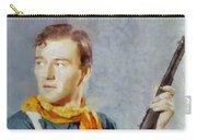 John Wayne, Vintage Hollywood Legend Carry-all Pouch