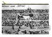 Johnson Vs. Jeffries, 1910 Carry-all Pouch by Granger