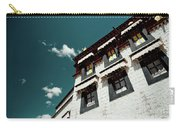 Jokhang Temple Wall Lhasa Tibet Artmif.lv Carry-all Pouch