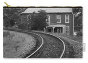 Jonesborough Tennessee - Curved Train Tracks Carry-all Pouch