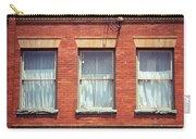 Jonesborough Tennessee Three Windows Carry-all Pouch