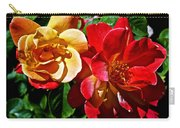 Joseph's Coat Roses At Pilgrim Place In Claremont-california  Carry-all Pouch