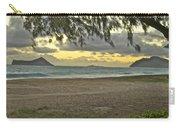 Kaohikapu Island Sunrise Carry-all Pouch