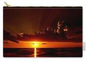 Keaton Beach Sunset Carry-all Pouch