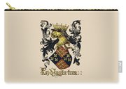 King Of England Coat Of Arms - Livro Do Armeiro-mor Carry-all Pouch by Serge Averbukh