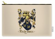 King Of France Coat Of Arms - Livro Do Armeiro-mor  Carry-all Pouch by Serge Averbukh