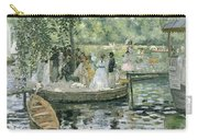 La Grenouillere Carry-all Pouch by Pierre Auguste Renoir