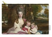 Lady Elizabeth Delme And Her Children Carry-all Pouch