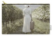 Lady In Vineyard Carry-all Pouch by Joana Kruse