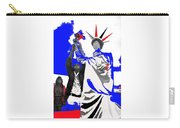 Lady Liberty's Torch Adjusted Parade Tucson Arizona Color Added Carry-all Pouch