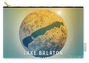 Lake Balaton 3d Little Planet 360-degree Sphere Panorama Carry-all Pouch