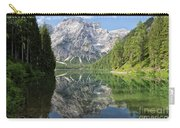 Lake Braies Carry-all Pouch by Yair Karelic