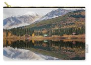 Lake Cabins In Fall Carry-all Pouch