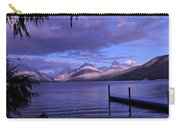 Lake Mcdonald Sunset Carry-all Pouch