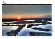 Lake Poygan Sunset Carry-all Pouch