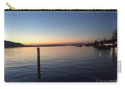 Lake Zurich At Sunset Carry-all Pouch