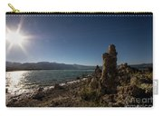 Lakefront And Sunset At Mono Lake, Eastern Sierra, California, U Carry-all Pouch
