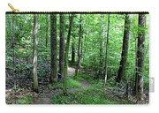 Lakeside Trail Winding Path - Yellowwood Lake Carry-all Pouch