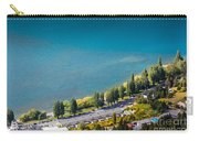 Landscape Of Lake In The South Island, Queenstown New Zealand  Carry-all Pouch