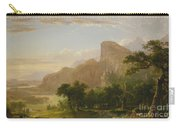 Landscape Scene From Thanatopsis Carry-all Pouch