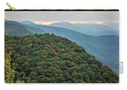 Landscape View At Cedar Mountain Overlook Carry-all Pouch