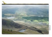Landscape View Of Llyn Cwellyn And Moel Cynghorion In Snowdonia  Carry-all Pouch