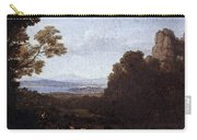 Landscape With Apollo And Mercury  Carry-all Pouch