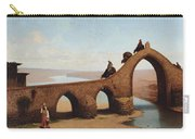 Landscape With Bridge Carry-all Pouch