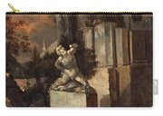 Landscape With Ruins Carry-all Pouch