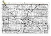 Las Vegas Nevada Usa Light Map Carry-all Pouch