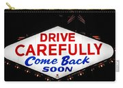 Las Vegas Sign At Night Carry-all Pouch