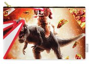 Laser Eyes Space Cat Riding Dog And Dinosaur Carry-all Pouch