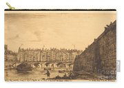 Le Pont-au-change, Paris, Vers 1784 Carry-all Pouch